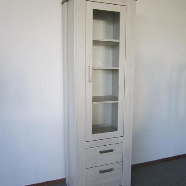 Vitrinekast F 1 deurs