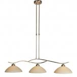 Capri hanglamp brons 3 l.