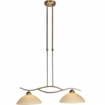 Capri hanglamp brons 2l